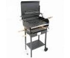 Cruccolini Barbacoa de gas con chapa pesada Cruccolini Everyday, parrilla inox 50x38